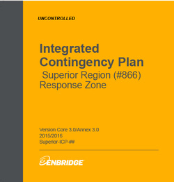 Enbridge Integrated Contingency Plan