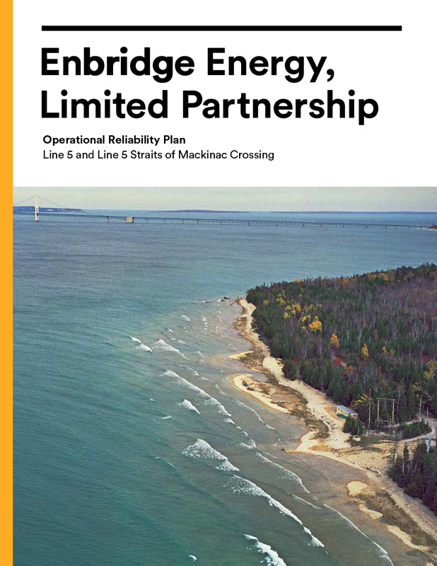 Enbridge Operational Reliability Plan