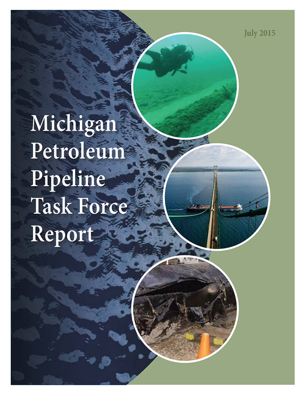 Michigan petroleum pipeline task force report