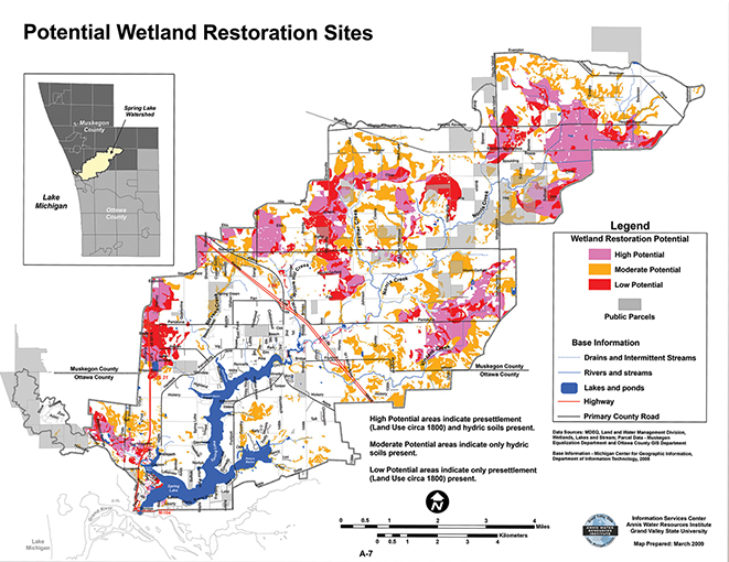Wetland Restoration Sites Assessment